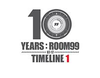 10 years : Room99 // Timeline 1