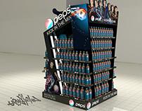 Pepsi & Sunbites   (Stands & Pillar)