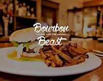 Bourbon and the Beast - Gastropub branding
