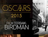 Oscar 2015 - The Winner (Infographic)