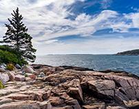 Coastal Maine including Bass Harbor Head Light House