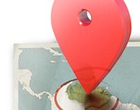 Mapa - Ilustração Revista Tetra Pak Acontece