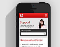 Vodafone ECare Support
