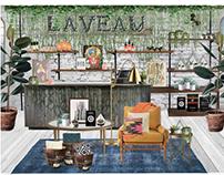 """""""Laveau"""" Sustainable Store Concept"""
