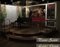 classic piano area