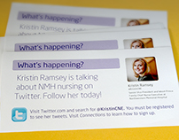 Employee Engagement Twitter Poster and Card