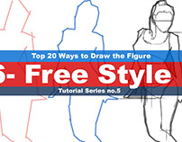 Top 20 Ways to Draw the Figure Chapter six(6-Free Style