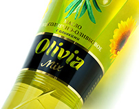 Sunflower and olive oil «OLIVIA MIX»