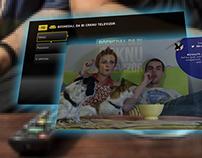 VOD UX on Netgem STB for TV show