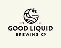 Good Liquid Brewing Co Brand Identity