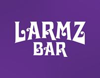 Larmz Bar Logo and Packaging