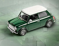 Mini Cooper 1969 Burago