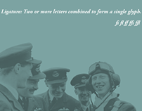 Ligature Poetics of the Royal Air Force