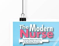 Infographic: The Modern Nurse (school project)