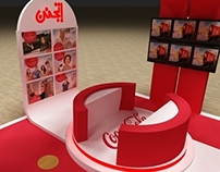 CocaCola Activation Booth