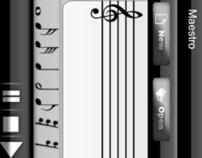 Music Maestro, iPhone Application