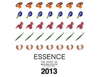 """ESSENCE"" The Study of Natural Colour"