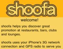 Shoofa, iPhone Application