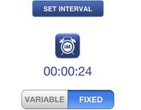 Interval Minder, iPhone Application