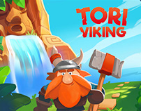 Personal Project about funny Viking