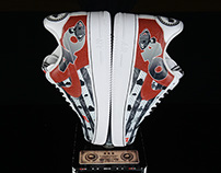 FootLocker 40th Anniversary Custom Sneaker Trophies