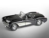 Corvette 1957 Maisto