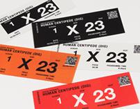 ODEON Optic Cinema Ticket