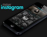 """Instagram Redesign """"Neon"""""""