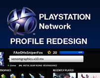 PLAYSTATION Network - Profile Redesign