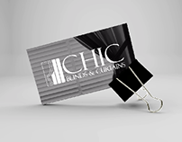 Logo & Brand Identity Design for CHIC Blinds & Curtains