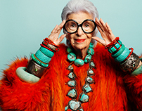 Iris Apfel for Annabelle Magazine