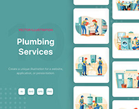 Plumbing Service Illustrations
