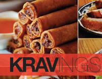 Cook Book Cover & Interiors–Kravings