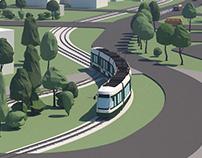 Extension of tram route 3 - Augsburg to Königsbrunn