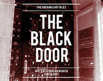 TYPOGRAPHY & LAYOUT - The Black Door