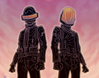 Daft Punk - The Gauntlet Gallery