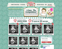 Cutest Baby Competition: Website & Logo
