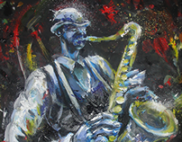 Saxophoniste 2010