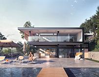 Villa from the coast