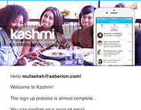 Email content for Kashmi Singapore Pte. Ltd.