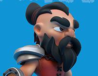 Chibi Warrior