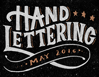 Hand Lettering - May 2016