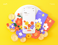 Garden : cultivate your budget | UX UI