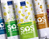 SOS Planet Agua Savorizada (prototipo diseño)