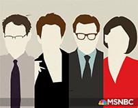 MSNBC Crew Illustrations