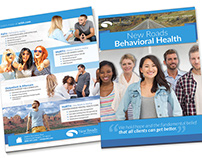 Print Collateral 2015 - New Roads Behavioral Health
