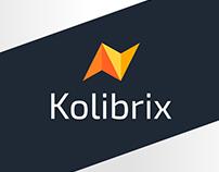 Логотип и фирменный стиль компании KOLIBRIX