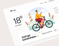 Justgo – CityTours Website