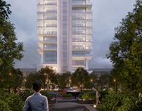 Skyscraper Architecture / Archviz