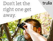 Trulia (print ads)